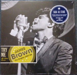 JAMES BROWN – Try Me – The Singles 1957-1958